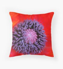 Poppy Appeal Throw Pillow