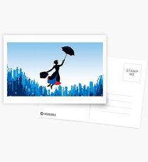 Mary Poppins Postkarten