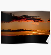 Dusk in the Red River Valley Poster