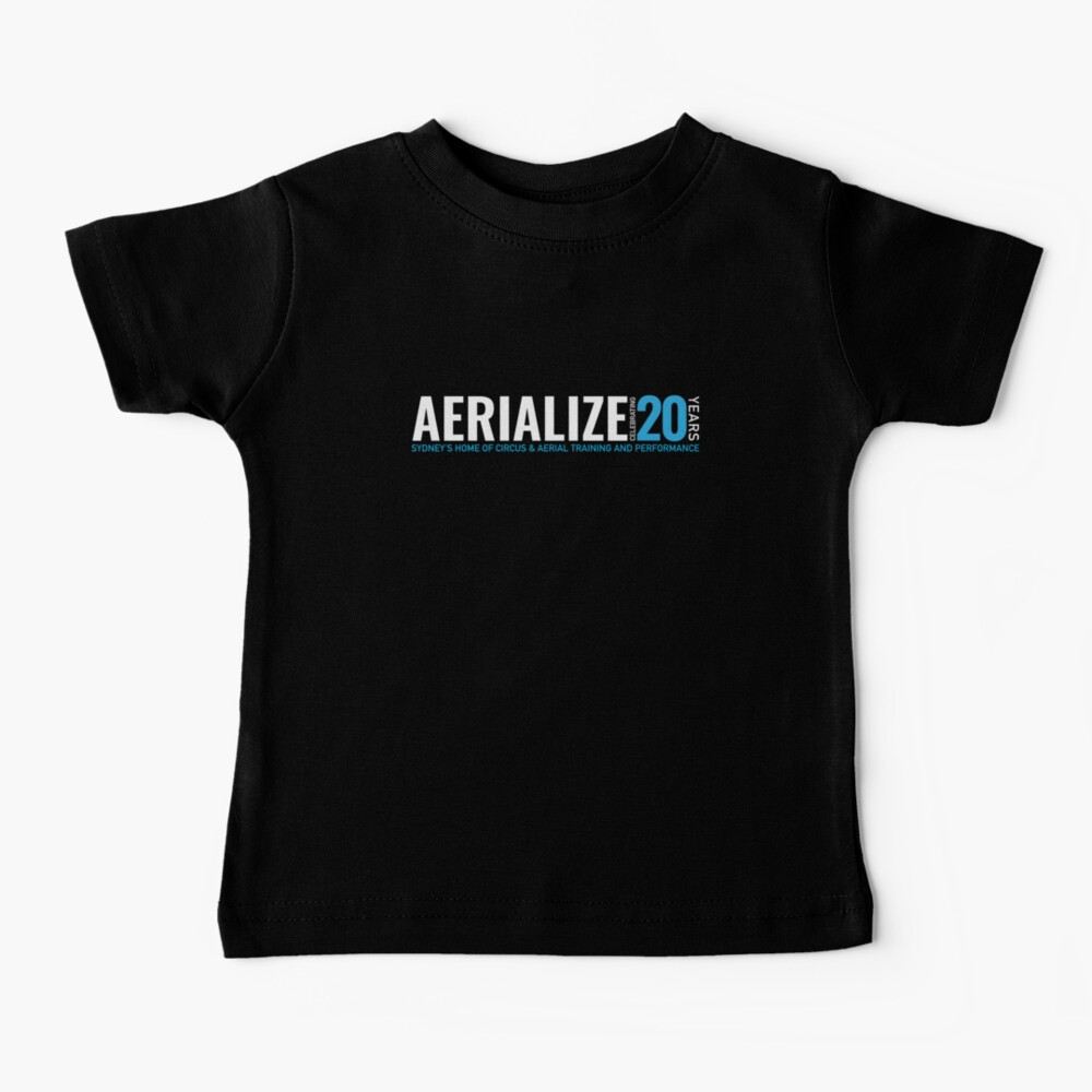 Aerialize Official 20th anniversary Merchandise Baby T-Shirt