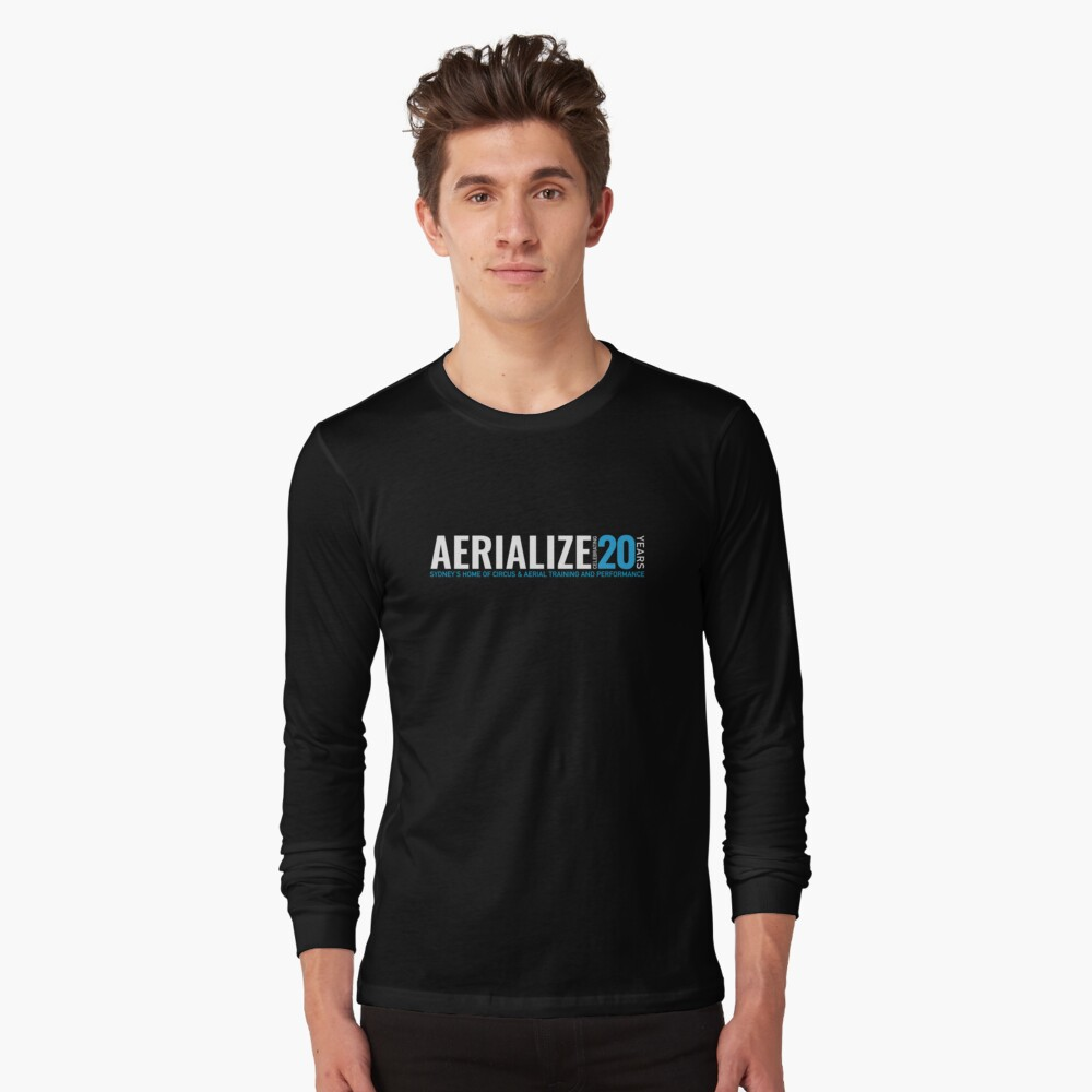Aerialize Official 20th anniversary Merchandise Long Sleeve T-Shirt