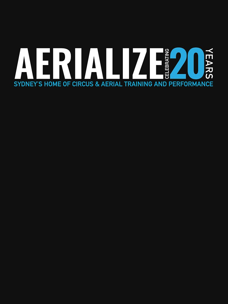 Aerialize Official 20th anniversary Merchandise by SydneyAerialize