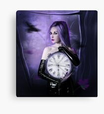 Clocks : the time Canvas Print