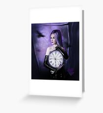 Clocks : the time Greeting Card