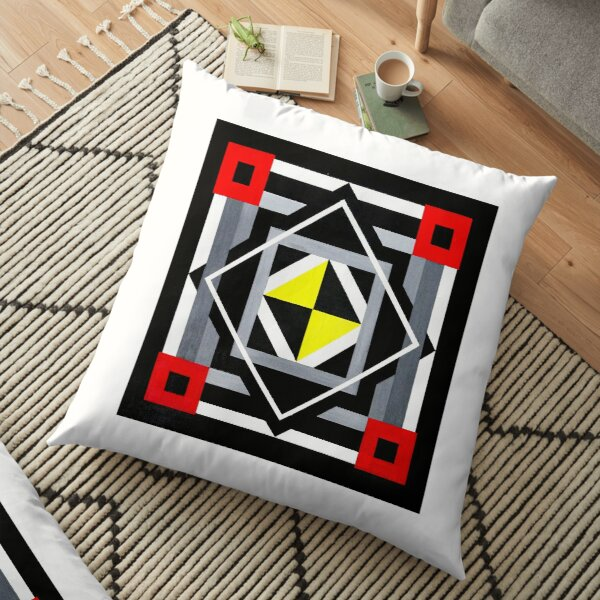 Art 4 Floor Pillow