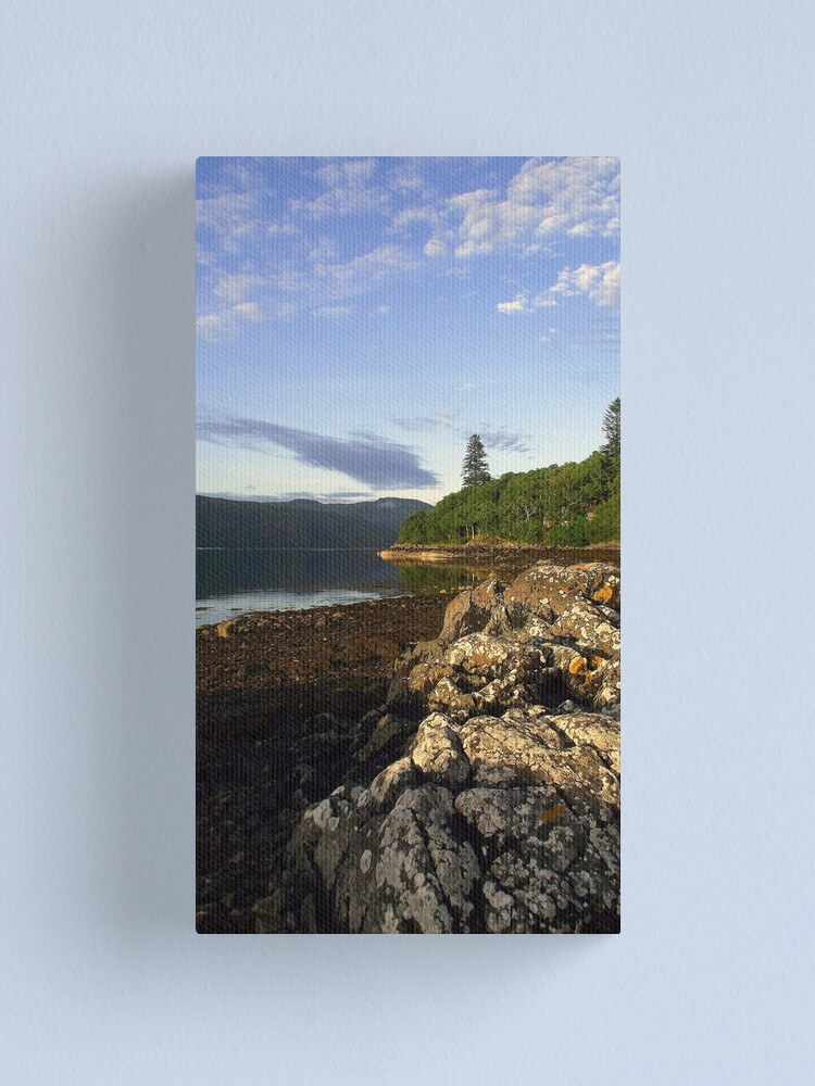 Alternate view of Loch  Sunart Canvas Print
