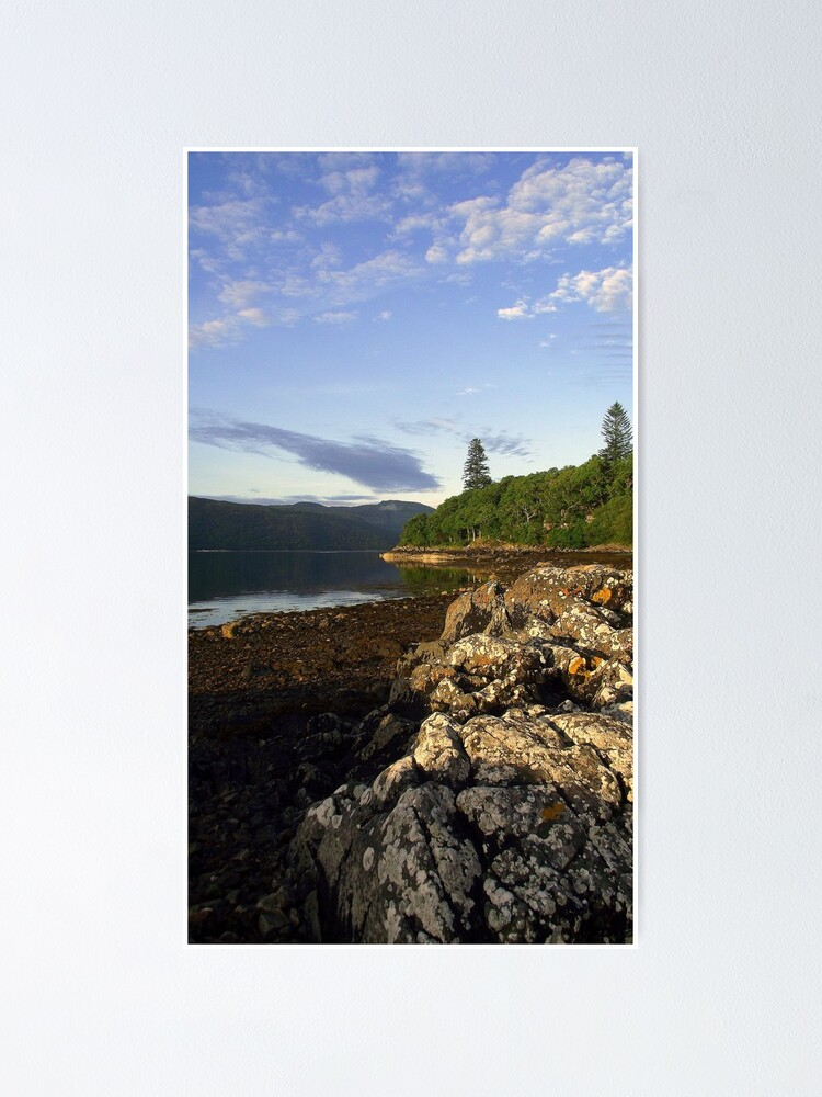 Alternate view of Loch  Sunart Poster