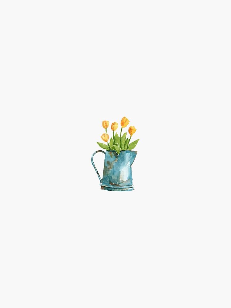 yellow tulip by mlstoutl