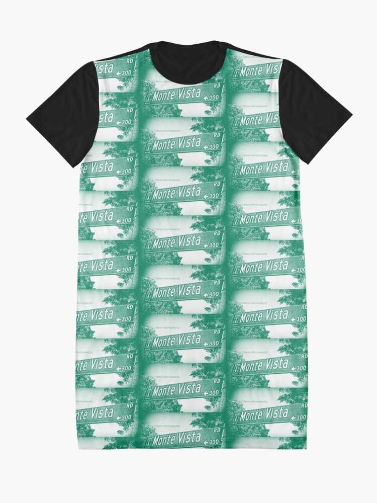 Alternate view of Monte Vista Road, Arcadia, CA by MWP Graphic T-Shirt Dress