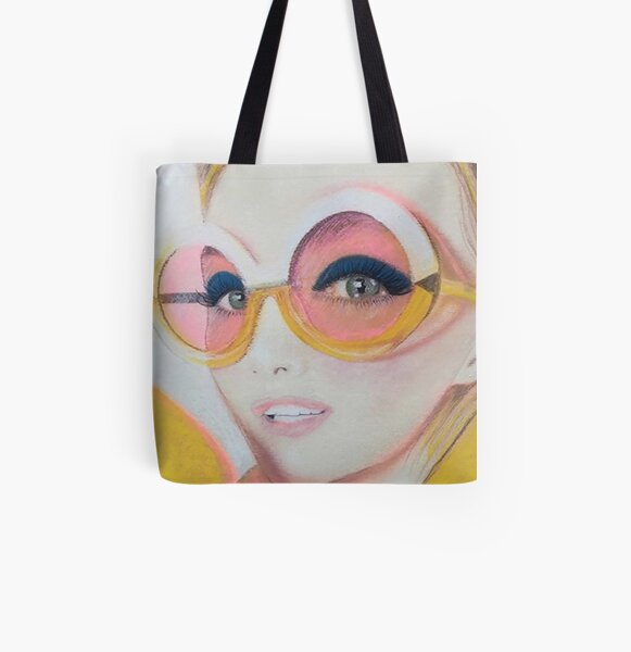 Big Sunnies All Over Print Tote Bag