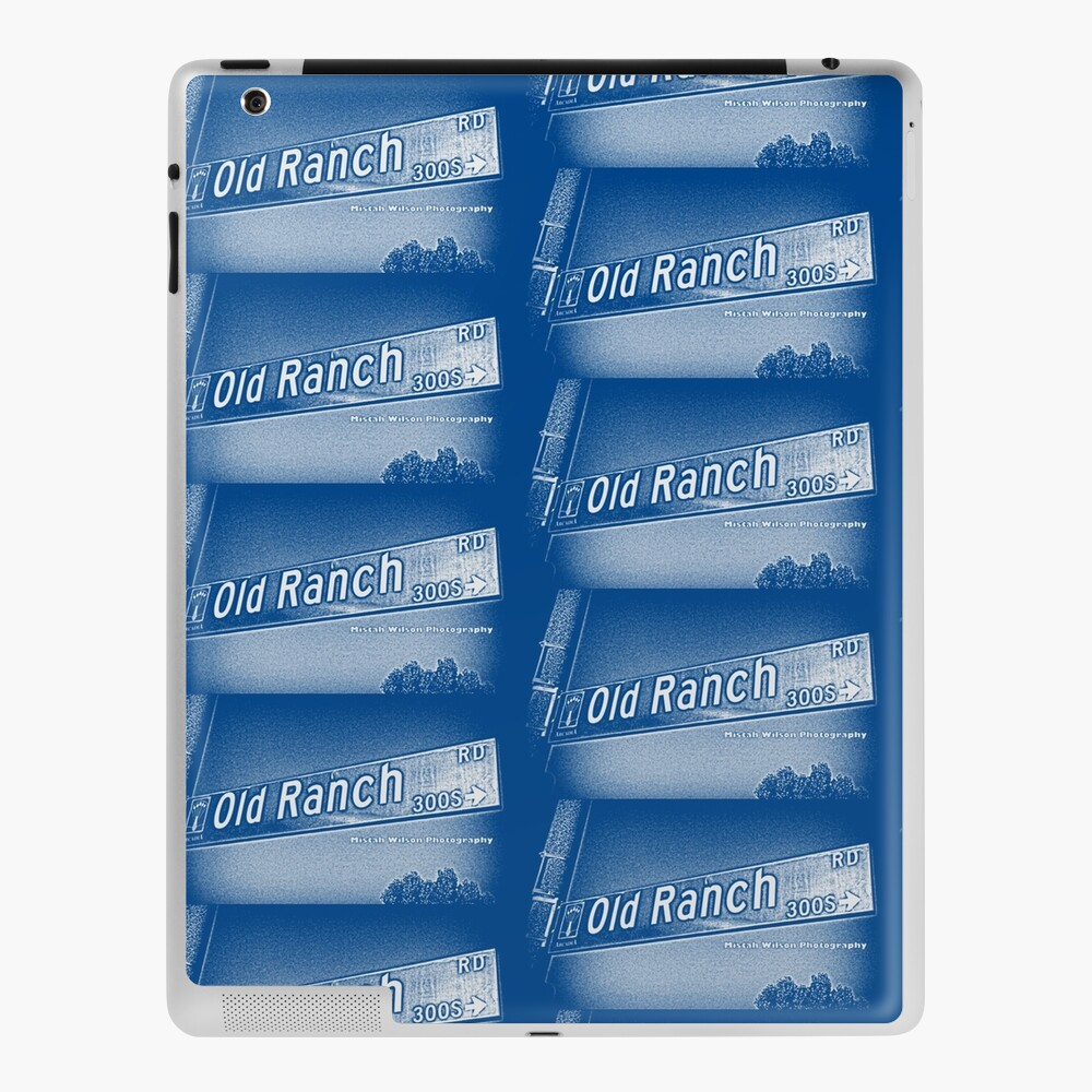 Old Ranch Road, Arcadia, CA by MWP iPad Case & Skin