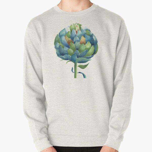 Artichoke in watercolour Pullover Sweatshirt