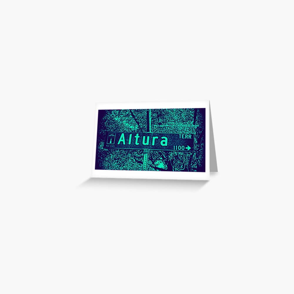 Altura Terrace, Arcadia, CA by MWP Greeting Card