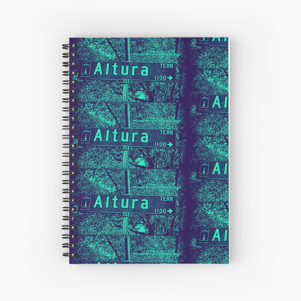 Altura Terrace, Arcadia, CA by MWP Spiral Notebook
