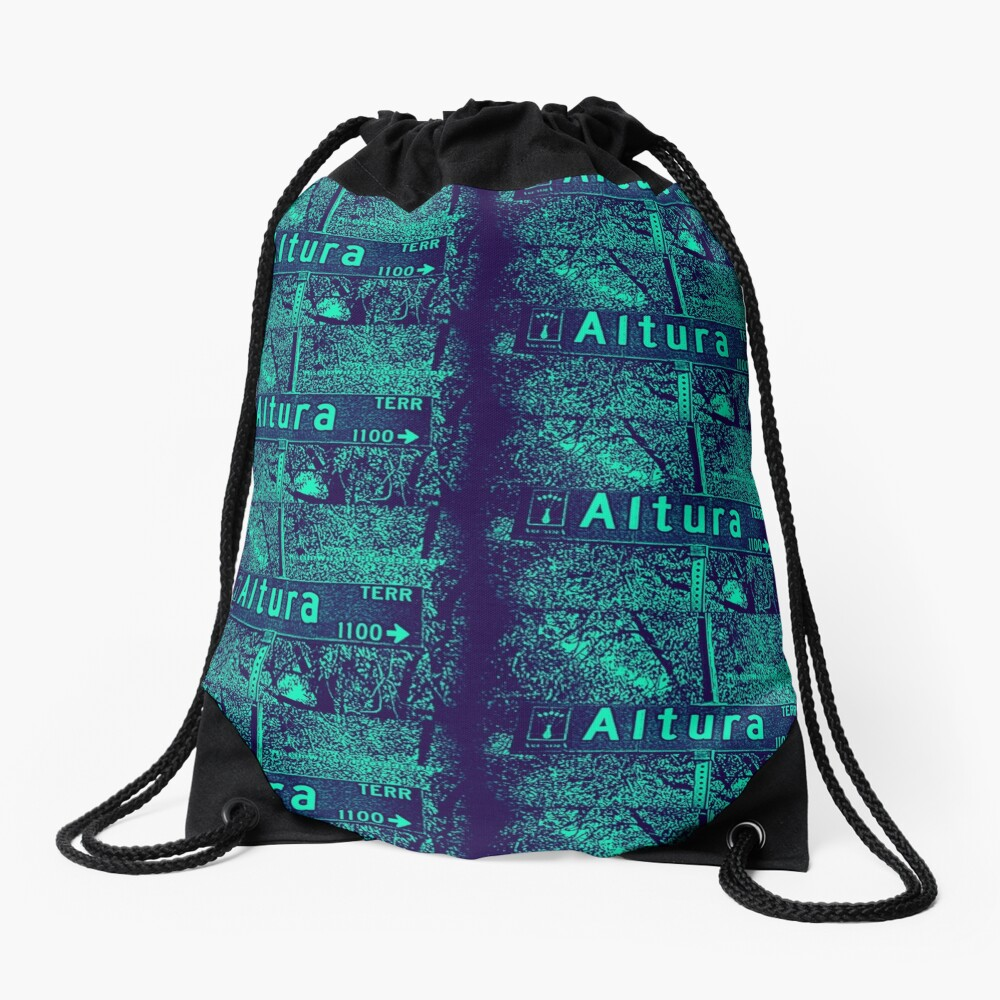 Altura Terrace, Arcadia, CA by MWP Drawstring Bag