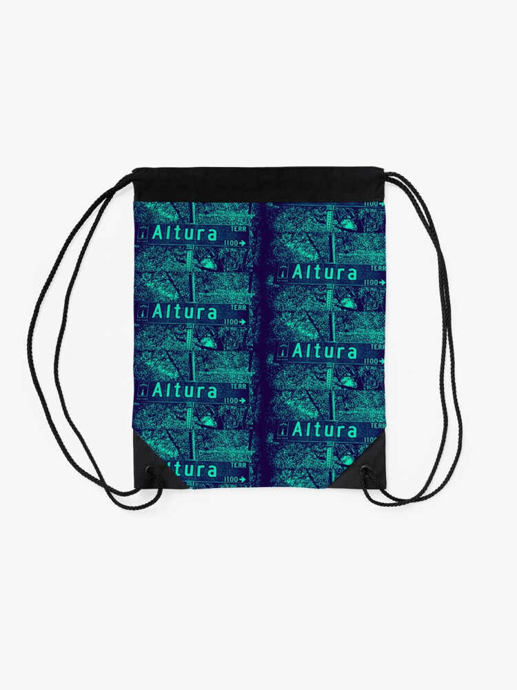Alternate view of Altura Terrace, Arcadia, CA by MWP Drawstring Bag