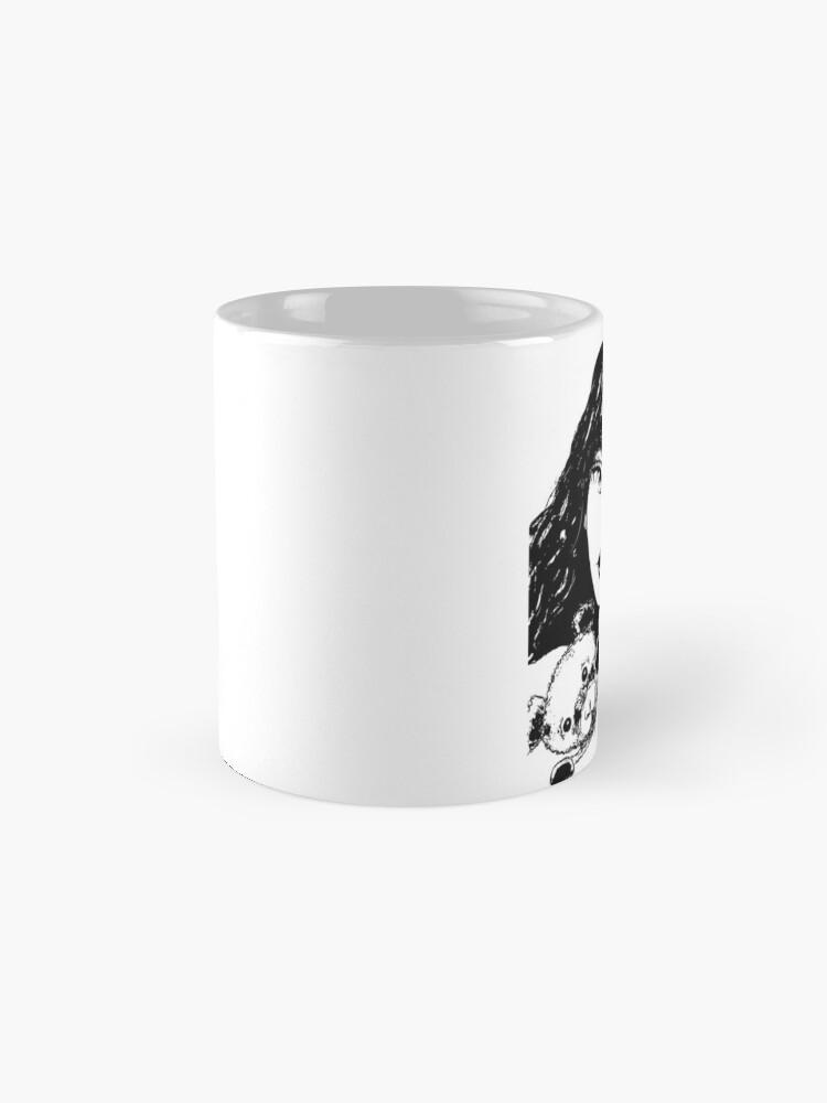 Alternate view of Beary Sweet - Black & White Version Mug