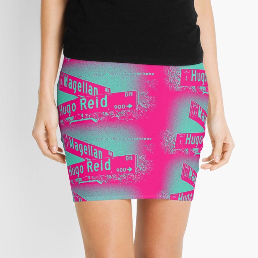 Magellan Road & Hugo Reid Drive, Arcadia, CA by MWP Mini Skirt
