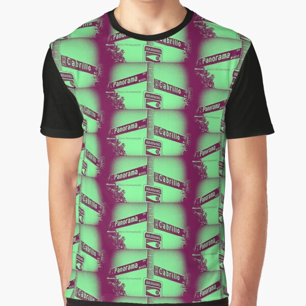 Panorama Drive & Cabrillo Road, Arcadia, CA by MWP Graphic T-Shirt