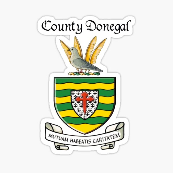 County Donegal Ancient Crest Sticker