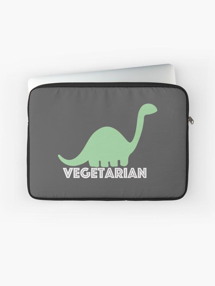 Vegetarian Dinosaur Logo Laptop Sleeve By Nemofish Redbubble