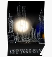 Remember 9-11 NYC Poster
