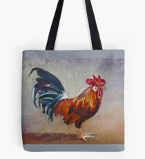 Rooster - Throw Pillow Tote Bag