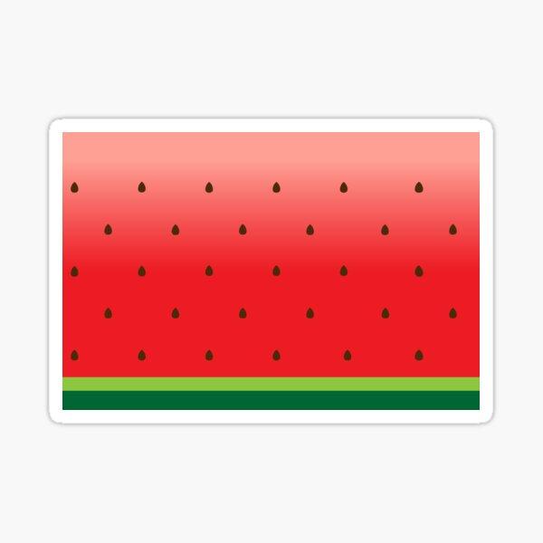 Watermelon Print Sticker