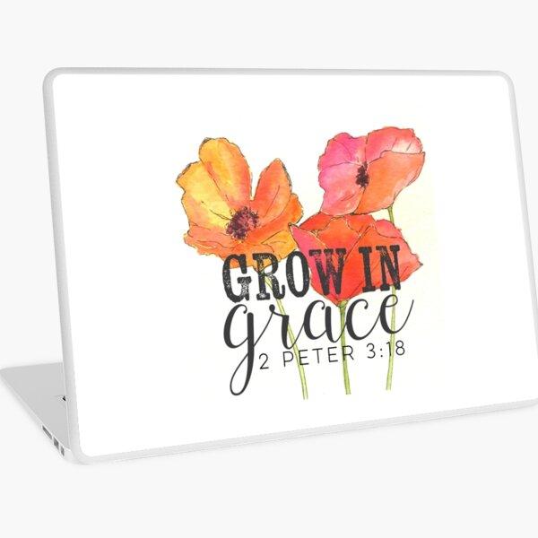 Grow in Grace Laptop Skin