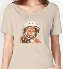 Keep Calm Cosmonaut (Colour) Women's Relaxed Fit T-Shirt