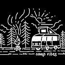 «Campamento Vibes (para la oscuridad)» de Quilimo Studio