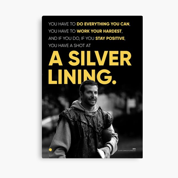 The Silver Linings Playbook Canvas Print