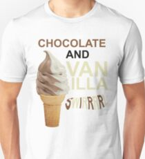 Orange is the new black - Chocolate & Vanilla Unisex T-Shirt
