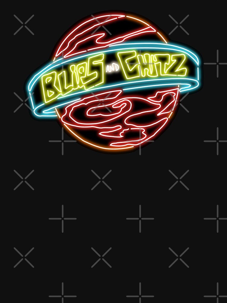 Neon Blips and Chits Logo by gkillerb