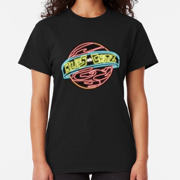 Neon Blips and Chits Logo Classic T-Shirt