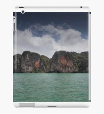 Limestone islands in Thailand iPad Case/Skin