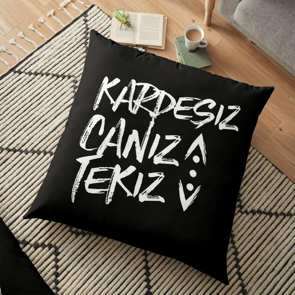 CUKUR KARDESIZ Floor Pillow