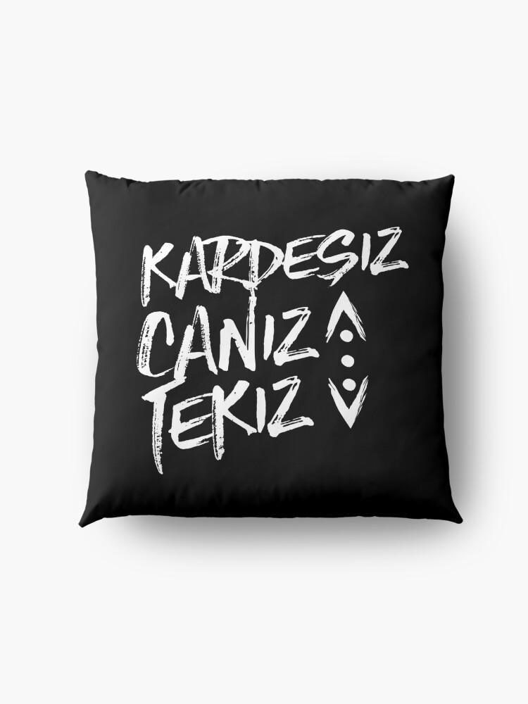 Alternate view of CUKUR KARDESIZ Floor Pillow