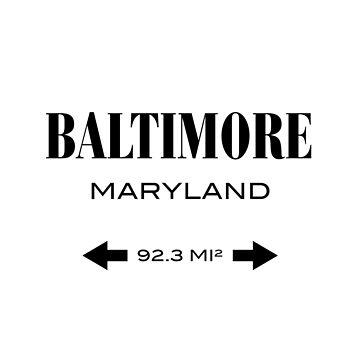 Baltimore, Maryland von SITM