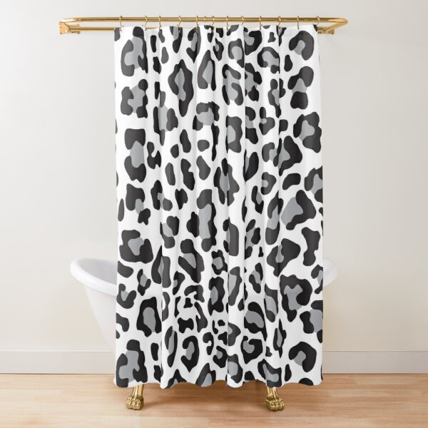 Leopard Shower Curtains Redbubble
