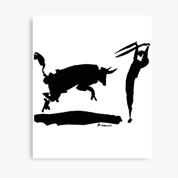 Pablo Picasso Bullfight III 1960 Artwork Shirt, Reproduction Canvas Print