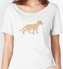 Spotted Big Cat Women's Relaxed Fit T-Shirt