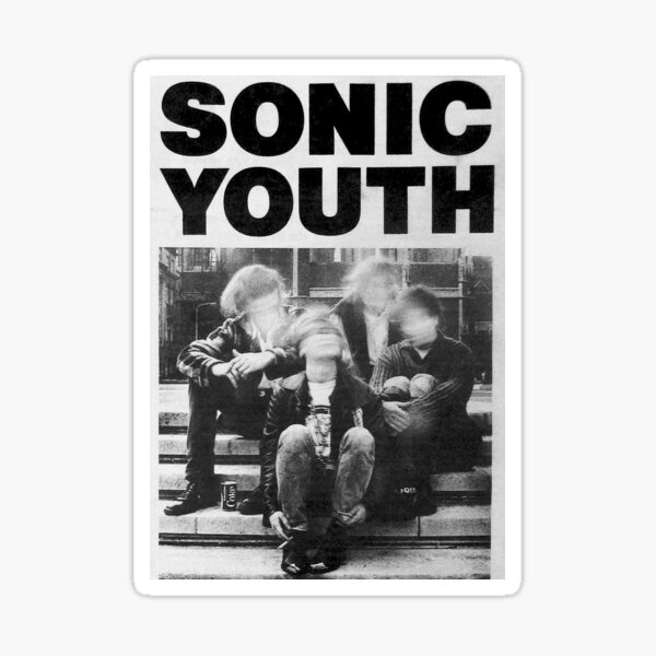 autocollant sonic jeunesse Sticker