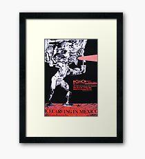 Art Unit poster for Grotesqui Monkey Choir 1984 Framed Print