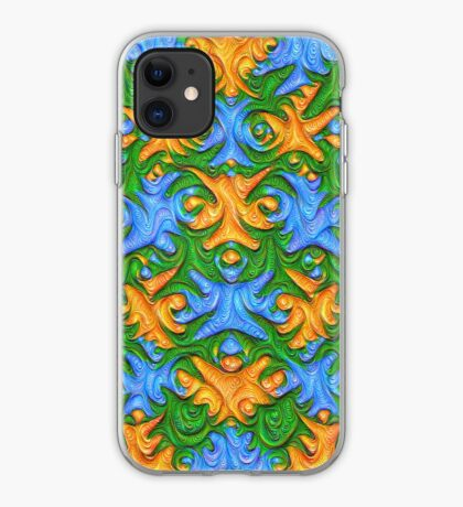 Frozen chanterelles #DeepDream #Art iPhone Case