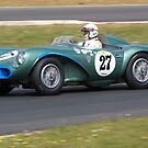1956 Aston Martin DB3S by Willie Jackson