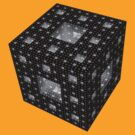 Menger Sponge (inverted) by suranyami