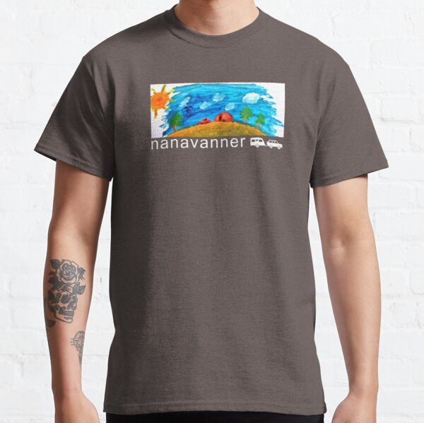 Caravan - Australia On Track - Nanavanner Classic T-Shirt