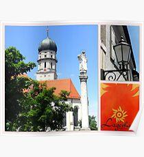 "Schongau, Obb. (Bavaria) featured in ""Postcard Destinations"" Poster"