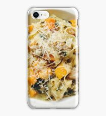 Butternut Squash & Sausage Pasta iPhone Case/Skin